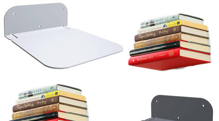Niewidzialne półki na widzialne książki