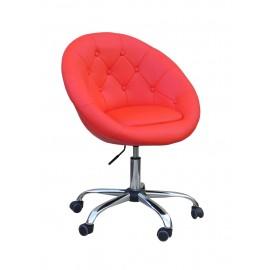 fotel kosmetyczny na kółkach